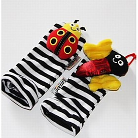Baby Feet Rattles Black Soft Toys Age Group:Adults'; Net Dimensions:15.06.55.0; Shipping Weight:0.034; Package Dimensions:15.06.55.0; Net Weight:0.045; Special selected products:Clearance