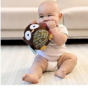 Rattle Owl Shape Baby Ball Soft Cotton Toys Age Group:Adults'; Net Dimensions:15.015.015.0; Shipping Weight:0.225; Package Dimensions:15.015.015.0; Net Weight:0.225; Special selected products:Clearance