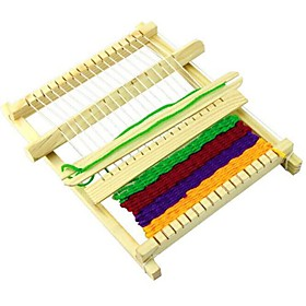 diy weaving loom educational novelty toys Material:Wooden; Net Dimensions:22.015.02.0; Shipping Weight:0.106; Package Dimensions:22.015.02.0; Net Weight:0.02; Special selected products:Clearance