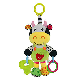 Babyfans ™ Baby Cute Cow Cartoon Stuffed Music Toys Age Group:Adults'; Net Dimensions:25.014.08.0; Shipping Weight:0.13; Package Dimensions:26.015.09.0; Net Weight:0.15; Listing Date:03/06/2019; Special selected products:Clearance