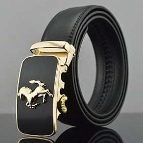 Men's Party / Evening / Stylish / Luxury Buckle - Solid Colored Formal Style / Stylish