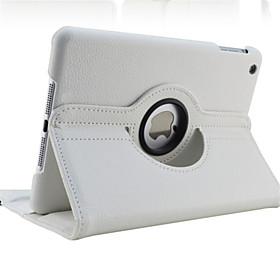 Case For Apple iPad Air / iPad 4/3/2 / iPad Mini 3/2/1 360° Rotation / with Stand / Auto Sleep / Wake Full Body Cases Solid Colored Hard PU Leather /