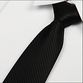 Men's Party / Work / Basic Necktie - Solid Colored Classic Style