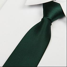 Men's Work / Basic Necktie - Solid Colored
