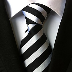 Men's Party / Work / Basic Necktie - Striped Classic
