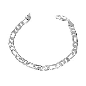 Men's Tennis Bracelet Ladies Copper Bracelet Jewelry Silver For Party Daily Casual / Silver Plated