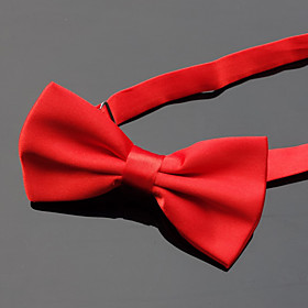 Men's Party / Basic Bow Tie - Solid Colored