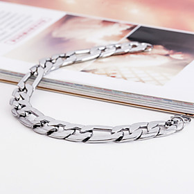 Men's ID Bracelet Unique Design Fashion Stainless Steel Bracelet Jewelry Silver For Christmas Gifts Party
