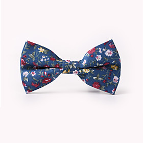 Men's Party / Work / Basic Bow Tie - Floral Print