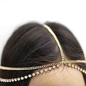 Women's Vintage / Party Brass Head Chain / Cute