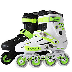 Men's / Women's Inline Skates Adults' Wearable, Wearproof White / Green, White, Black / Green Roller Skating