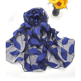 Women's Party Silk Rectangle Scarf / Cute