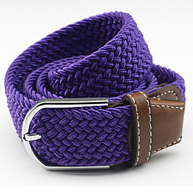 Unisex Accent / Decorative / Dress Belt Alloy Wide Belt - Solid Colored Fashion