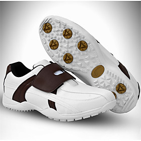 Men's Golf Shoes Breathable Anti-Slip Cushioning Waterproof Sporty Golf Spring Summer Fall