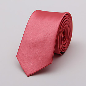 Men's Neckwear Necktie - Solid Colored