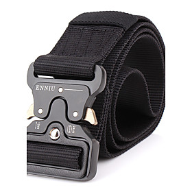 Men's Alloy Waist Belt - Solid Colored