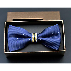 Men's Polyester Bow Tie - Dots