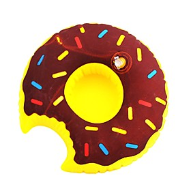 Inflatable Toys Donuts Style Water Swim Ring Coaster Cup Holder Shipping Weight:0.015; Package Dimensions:5.05.02.0; Net Weight:0.014; Listing Date:09/13/2017; Special selected products:Clearance