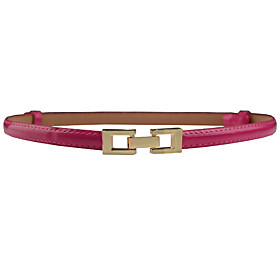 Women's Dress Belt Alloy Buckle - Solid Colored Fashion / PU