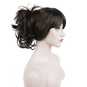 Ponytails / Hair Piece Synthetic Hair Hair Piece Hair Extension Straight / Classic Daily