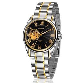 Men's Fashion Watch Mechanical Watch Automatic self-winding Analog Black