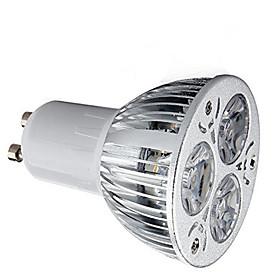 1pc 9 W LED Spotlight 600 lm GU10 3 LED Beads High Power LED Decorative Warm White Cold White 85-265 V / 1 pc / RoHS