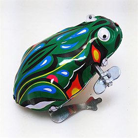Wind-up Toy Frog Animal Vintage Retro Boys' Girls' Toy Gift Gender:Girls',Boys'; Theme:Animal,Frog; Style:Vintage,Retro; Age:3 years; Category:Wind-up Toy; Net Dimensions:0.0000.0000.000; Shipping Weight:0.041; Package Dimensions:0.0000.0000.000; Net Weight:0.000; Listing Date:11/03/2017; Base Categories:Wind-up Toys,Toys  Games,Toys