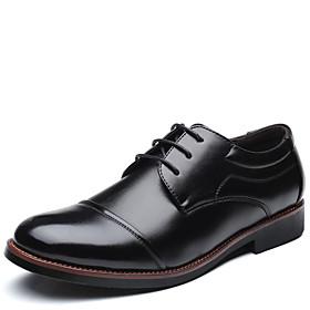 Men's Formal Shoes Spring / Summer Party  Evening Oxfords Microfiber Black / Brown
