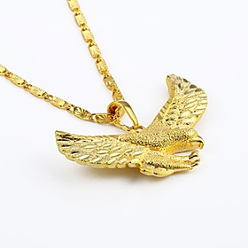 Men's Pendant Necklace Chain Necklace Animal Gothic Hip Hop Gold Plated Yellow Gold Gold Necklace Jewelry For Street Club