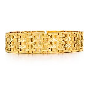 Men's Chain Bracelet - Gold Plated Fashion Bracelet Gold For Party Gift