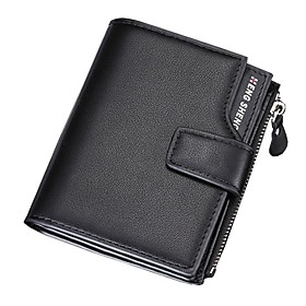 Men's Bags PU Leather Wallet Zipper for Shopping Black / Blue / Coffee