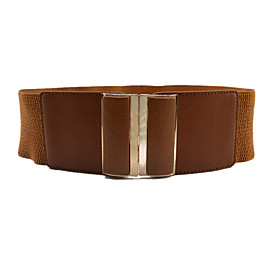 Women's Active / Basic Alloy Wide Belt - Solid Colored