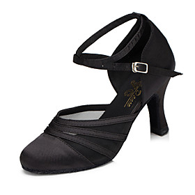 Women's Modern Shoes / Ballroom Shoes Synthetic Heel Cuban Heel Dance Shoes Black / Purple / Practice / EU39 Category:Ballroom Shoes,Modern Shoes; Upper Materials:Synthetic; Lining Material:Synthetic; Heel Type:Cuban Heel; Gender:Women's; Range:EU39; Style:Heel; Outsole Materials:Patent Leather; Occasion:Practice,Party; Brand:Shall We; Listing Date:05/28/2018; Production mode:Self-produce; Foot Length:; Size chart date source:Provided by Supplier.