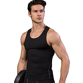Men's Hiking Vest / Gilet Fishing Vest Sleeveless Outdoor Breathable Quick Dry Stretchy Sweat-wicking Vest / Gilet Top Spring Summer Polyester Spandex Running