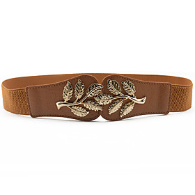 Women's Active Alloy Skinny Belt - Solid Colored / Cotton / Polyester
