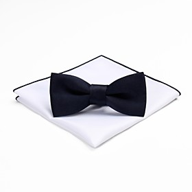 Men's Vintage / Party Bow Tie - Solid Colored Bow