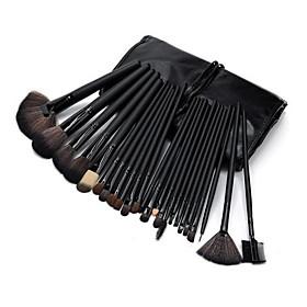 Professional Makeup Brushes Makeup Brush Set 24pcs Limits Bacteria Pony / Synthetic Hair / Horse Makeup Brushes for Makeup Brush Set / # /