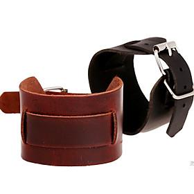 Men's Vintage Bracelet Leather Bracelet Vintage Style Stylish Creative Stylish Vintage Punk Leather Bracelet Jewelry Black / Brown For Daily Street