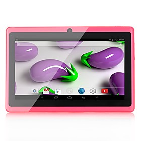 Q88 Android Tablet (Android 4.4 1024 x 600 Quad Core 1GB8GB) / 32 / Mini USB / Prise pour Ecouteurs 3.5mm