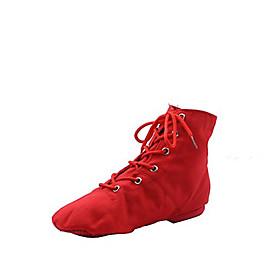 Women's Dance Shoes Jazz Shoes / Ballroom Shoes / Line Dance Boots Split Sole Black / White / Red / EU43