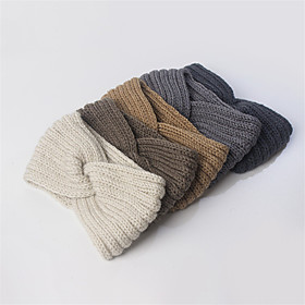 Cotton Fabric Headbands with Solid 1 Piece Daily Wear Headpiece