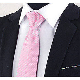 Men's Basic Necktie - Striped