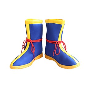 Cosplay Shoes Dragon Ball Son Goku / Cookie Anime Anime Cosplay Shoes Leather / Terylene / Rubber Men's / Women's 855