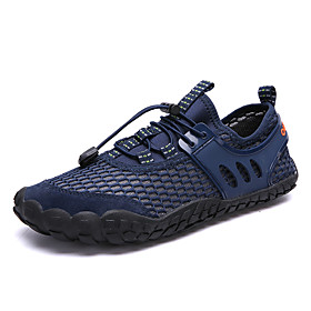 Men's Water Shoes 1.5mm Low-Top PU Leather Tulle Quick Dry Anti-Slip Swimming Diving Surfing Snorkeling Water Sports - for Adults