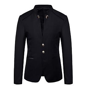 Men's Blazer Black / Wine / Navy Blue M / L / XL