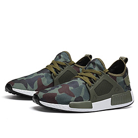 Men's Summer Sporty / Casual Athletic Daily Trainers / Athletic Shoes Running Shoes / Walking Shoes Mesh Breathable Army Green / Gray Category:Trainers / Athletic Shoes; Upper Materials:Mesh; Season:Summer; Gender:Men's; Activity:Walking Shoes,Running Shoes; Toe Shape:Round Toe; Style:Casual,Sporty; Outsole Materials:Rubber; Occasion:Daily,Athletic; Closure Type:Lace-up; Function:Breathable; Shipping Weight:0.5; Listing Date:05/28/2020; Foot Length:; Size chart date source:Provided by Supplier.