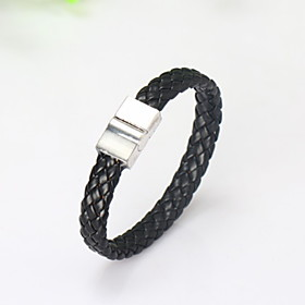 Men's Basic Alloy Solid Colored / Bracelet