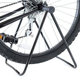 Bike Triple Wheel Hub Stand Kickstand Repair Parking Holder Foldable Universal Flexible Aluminum Metal Road Bike Mountain Bike MTB BMX