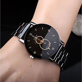 Men's Dress Watch Quartz Casual Casual Watch Analog Black / Stainless Steel / Stainless Steel
