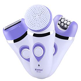Kemei Epilators KM-297 for Women Water Resistant / Waterproof / 3 in 1 / Adorable / Handheld Design